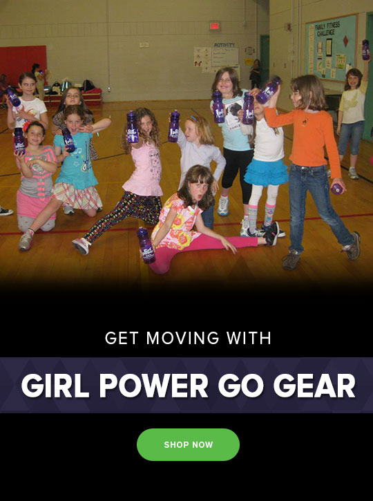 Girl Power Go Gear books tshirts women girl power classes enrichment program