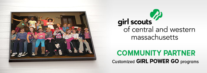 MA girl scouts community partner be strong girl power go classes