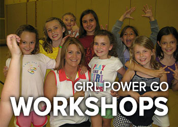 Empower strong woman adult workshops Girl Power
