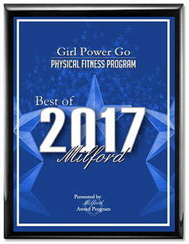 Best of Milford 2017 Girl Power Go program for strong girls