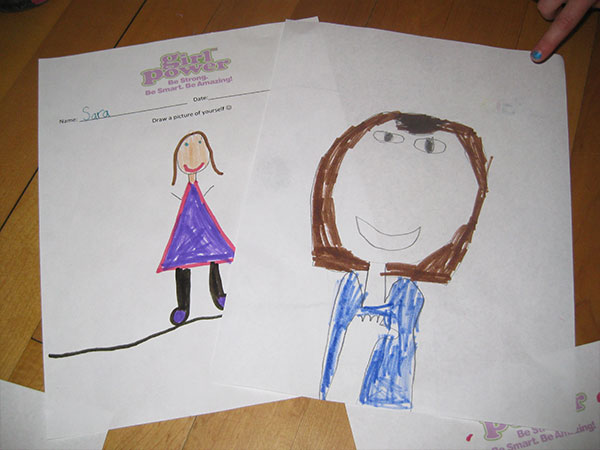 Self portrait – power of you empowerment program girls health and fitness