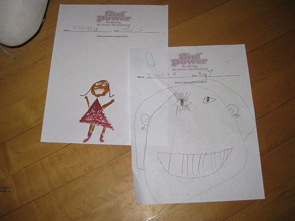 Self portrait – inspire independent girls empower self-confidence